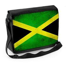 Jamaican FLAG Laptop Messenger Bag-Giamaica Atletica Calcio Cricket