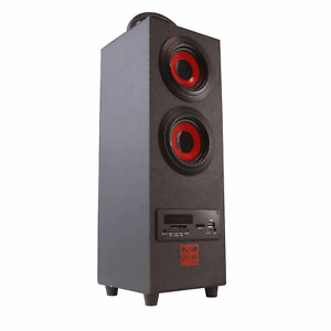 Bluetooth Wireless 2.1 Tower Bass Speaker Phone Stand Premium SD USBPSYC Torre