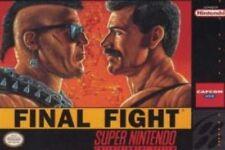 Final Fight - SNES Super Nintendo Game