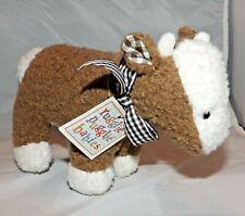 "North American Bear Co Cow Calf Rugglie Pugglie Babies Vintage 7.5"" long 4"" tall"
