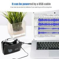 Portable Tape To PC Super USB Cassette-To-MP3 Player Converter Capture USB Cable