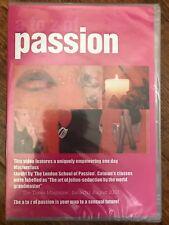 A A Z OF PASSION ~ LONDON Escuela de PASSION Sensualidad Documental GB DVD