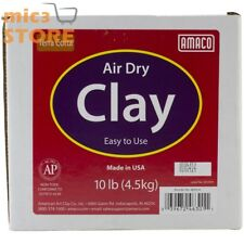Air Dry Modeling Clay AMACO non-Toxic Sculpting Home School 10-Pound Terra Cotta