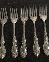 "International Sterling Silver IRENE 1928 Salad Fork 5-3//4/"" No Monogram"