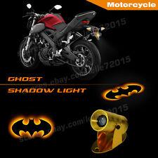 3D The Dark Knight Batman Logo Motorcycle Laser Projector CREE LED Shadow Light