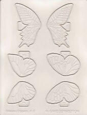 Cake Sugar Isomalt Silicone Veining Mat 5 - Large Butterfly Assortment