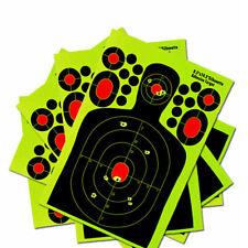 20x Adhesive Shooting Target 14.5'' Splatter Glow Shot Gun Rifle Paper Target US