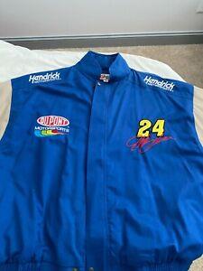 Jeff Gordon #24 DuPont COMPETIEORS VIEW HENDRICK MOTOSPORTS Men's Jacket XL wi28
