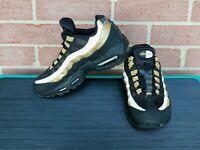 Nike AIR MAX 95 OG Running Shoes BLACK GOLD AT2865 002 Boys Mens Size 5
