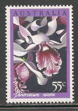 Australia #998 (A370) MNH - 1986 55c Dendrobium Nindi Orchid