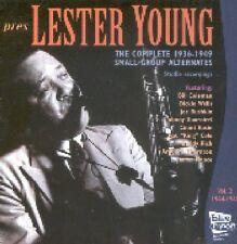 LESTER YOUNG - COMPLETE 1944-49 SMALL GROUP ALTERNATES  CD NEU