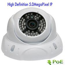 New 5MP PoE ONVIF Weatherproof  IP Security Camera 48IR ^7B( Wide Angle System