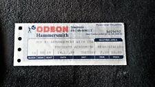 ***1989 AEROSMITH*** Hammersmith Odean concert ticket stub Rock Memorabilia
