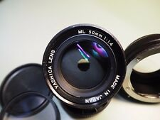 Yashica Lens ML 50mm f 1.4 with Fotga CY - M4/3 Adaptor