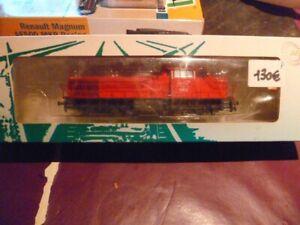 H0 Mehano loco diesel Vossloh G1206 CFL comme neuve en BO + pièces + notice