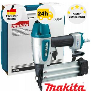Makita AF506 Druckluftnagler Stauchkopfnagler Pneumatik Nagler 15-50 mm + Koffer