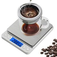 Jewelry Tea Food Scale High Precision Kitchen Scale 0.001oz/0.01g 500g