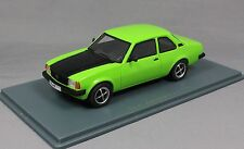 Neo Models Opel Ascona B 2.0 SR in Green & Black 43711  1/43 NEW Resin
