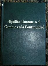 "Peru biography book on HIPOLITO UNANUE ""father of Peruvian medicine"""