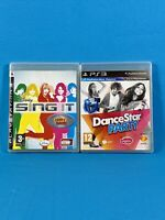 FREE POST Disney Sing It + Dance Party Star PS3 PlayStation 3 Game