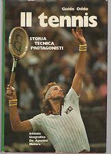 il tennis - storia tecnica protagonisti - guido oddo -