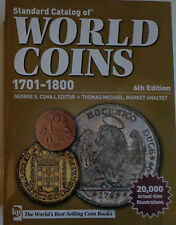 Standard Catalog of World Coins 1701-1800 inglese 6th Edition ~