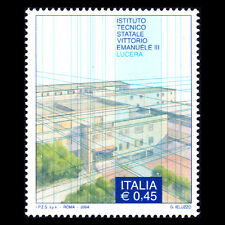 Italy 2004 - Technical Institute Vittorio Emanuele Architecture - Sc 2626 Mnh