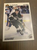 1991-92 Upper Deck Kings Hockey Card #145 Luc Robitaille