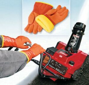 Snow Blower Gloves Shoveling Plowing Snow-blowing Warm Gloves Rugged Dry New
