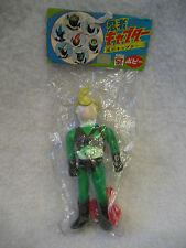 vintage Popy NINJA CAPTOR vinyl figure toy Green Japanese tokusatsu toy sentai !