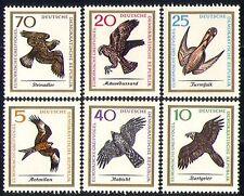 Germany 1965 Birds/Nature/Raptors/Eagle/Kite 6v  n29909