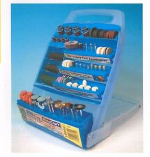 Rotacraft RC9400 - 400pc Rotary Tool Accessory Kit in Plastic Storage Case New