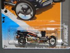 HW HOT WHEELS 2012 CODE CARS #15/22 FANGULA HOTWHEELS BLACK DRACULA VHTF RARE
