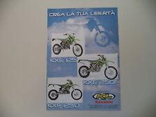 advertising Pubblicità 2005 MOTO KAWASAKI KXE 125/KXE 250 F/KXE 250