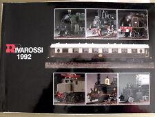 Catalogo RIVAROSSI 1992 scala H0-N - ITA ENG DEU FRA ESP [TR.2]