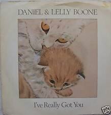 "DANIEL & LELLY BOONE - Ive Really Got You 7"" Single PS"
