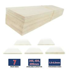 More details for wws balsa wood sheets (choose size & quantity) – modelling