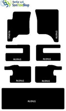 TAPPETI SSANGYONG RODIUS SU MISURA. RICAMO: SSANGYONG bianco + 4Fix Compatibili!