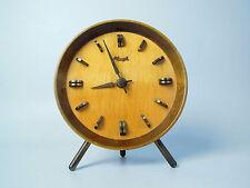 DESIGN KIENZLE DESK CLOCK MID CENTURY MODERN MANTLE MOELLER ART DECO JUNGHANS