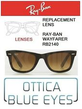 Lenti di Ricambio RAYBAN WAYFARER RB2140 filtri Replacement Lenses 85 BROWN GRAD