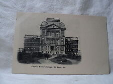 St. Louis Mo Missouri Christian Brothers College Postcard