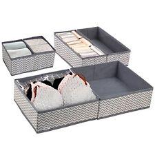 6X Aufbewahrungsboxen Faltbox Klappbox Sammelbox Stoffbox Regalbox Regalkorb