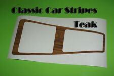 Auto Console Teak woodgrain Decal suit hj hx hz  Kingswood or premier