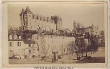 Château de Pau Vintage albumine ca 1880