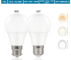 1-20 Pack LED 100W Bulb B22 Bayonet GLS Lamp Light Bulbs Cool White Warm White
