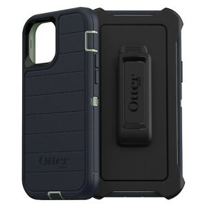 """OtterBox Defender Pro Series Case w/ Holster for iPhone 12 / 12 Pro 6.1"""" Blue"""