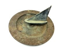 The Mariners Sundial 23-7 Cast Iron Base Aluminum Ship Garden Décor