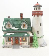 Dept 56 New England Village Craggy Cove Lighthouse 1987 Light Cord 5930-7