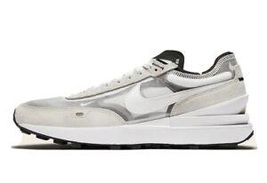 Size 9.5 - Nike Waffle One Summit White Shoes 2021 DA7995-100 Men's