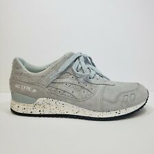 Asics Tiger Gel Lyte III Neon H803L-4343 Grey White Mens Running Shoes US 9.5